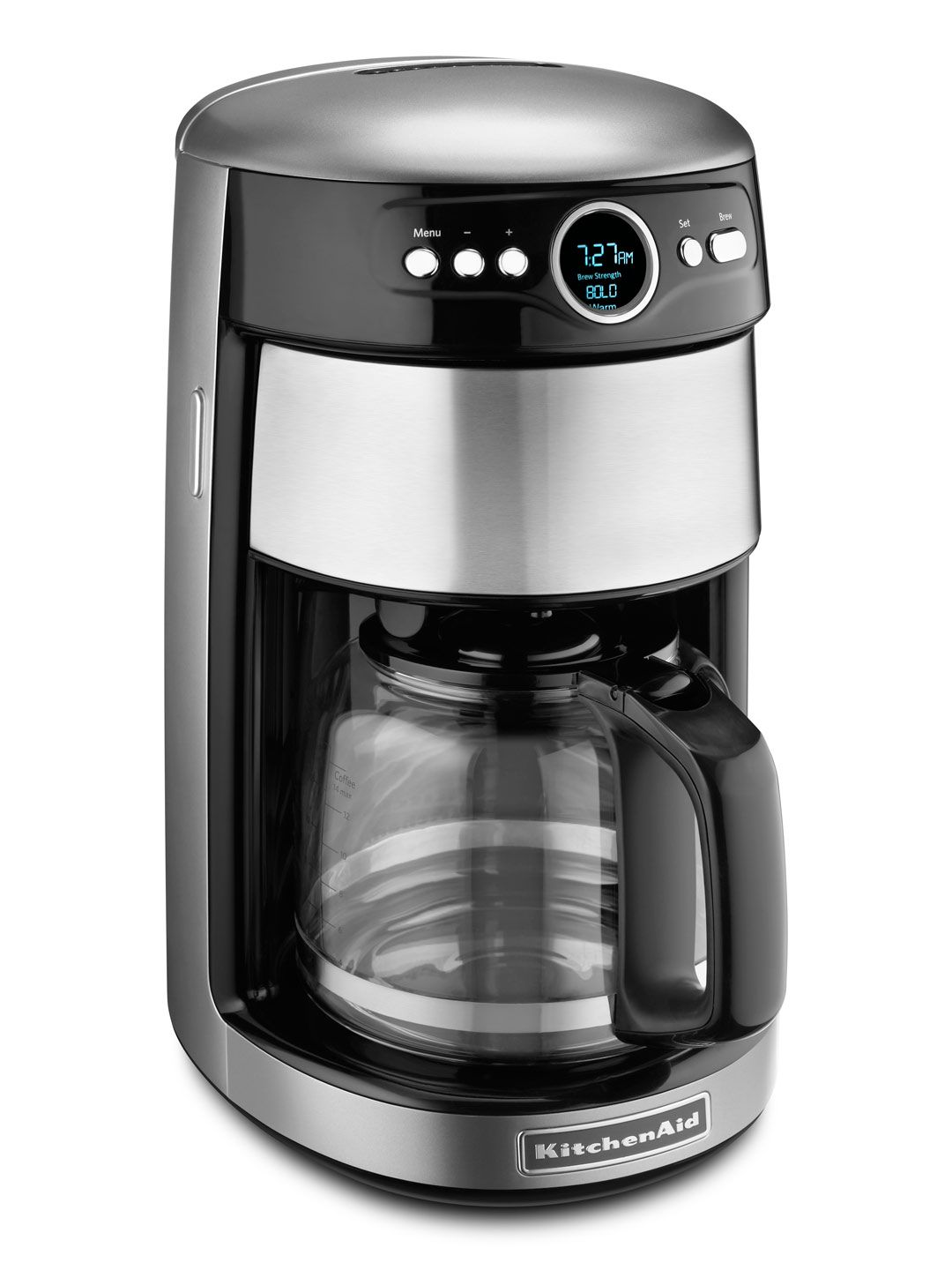 Contour Silver Coffee Maker