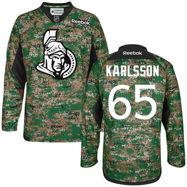 2046698b7 senators 65 erik karlsson veterans day digital camo jersey. Men s New York  Islanders Reebok Digital Camo Veteran s Day Custom Practice ...