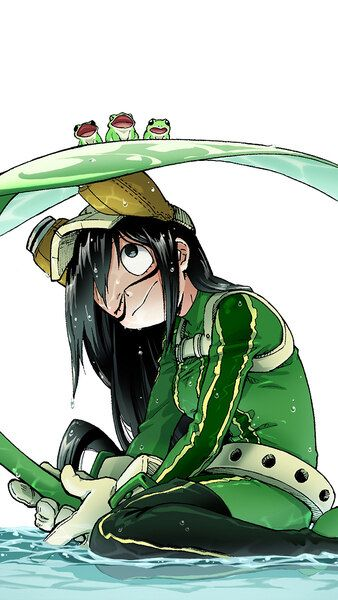 Tsuyu Asui Frogs My Hero Academia 4k Hd Mobile Smartphone And Pc Desktop Laptop Wallpaper 3840x2160 1920x1080 2160x38 Hero My Hero My Hero Academia Tsuyu