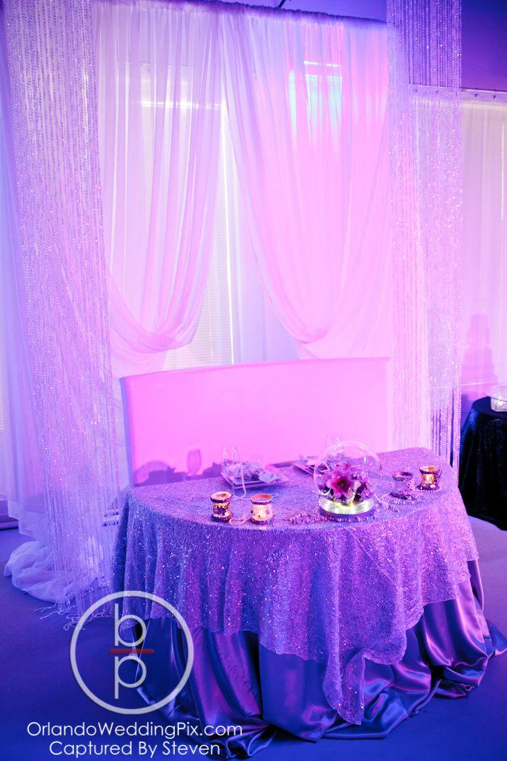 Sweet Heart Table #modern #chic #orlandowedding #weddings | Heaven Event Center