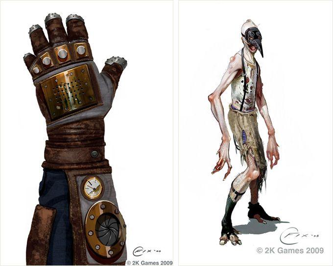 Bioshock 2 Concept Art Bioshock Concept Art Concept Art