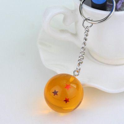 1S 1 Estrella LLavero 3D Dragon Ball Z - Bola de Drag/ón Z