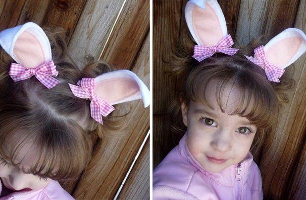 Hippity Hoppity Bunny Ear Clippies $4.99