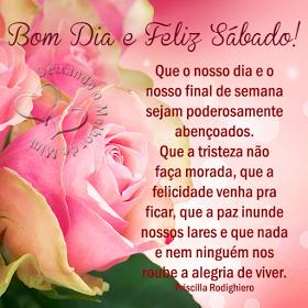 Bom Dia E Feliz Sábado Otimo Sábado Good Morning Frases Y Good