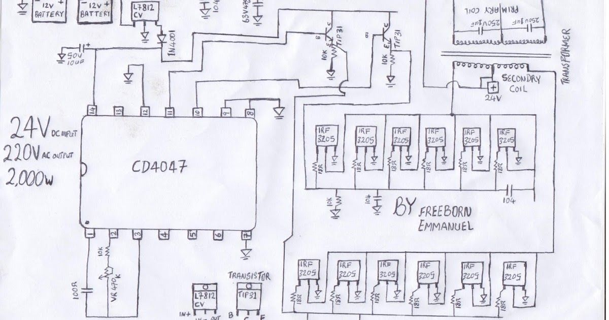 Excellent El Wire Inverter Schematic Ideas Electrical