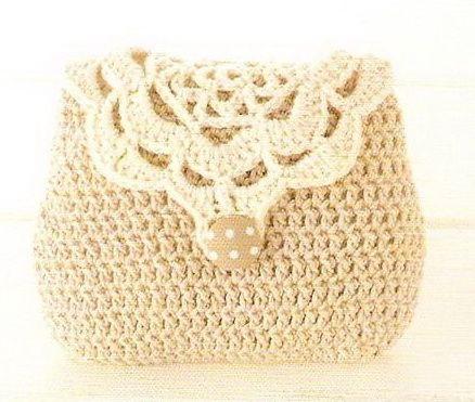 Sweet Bag free crochet pattern   Patrones   Pinterest   Bolsos ...
