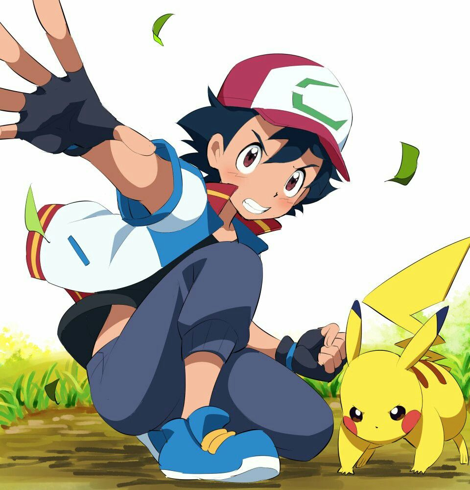 Ash Ketchum and Pikachu in 2018 Sequel film. Pokemon