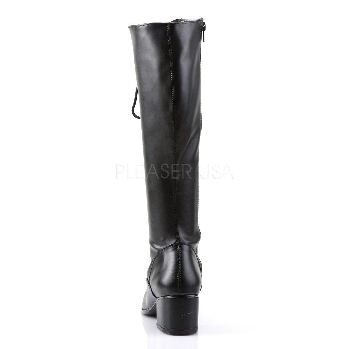 Funtasma RETRO-302 2 Inch Block Heel Steel Toe Boot
