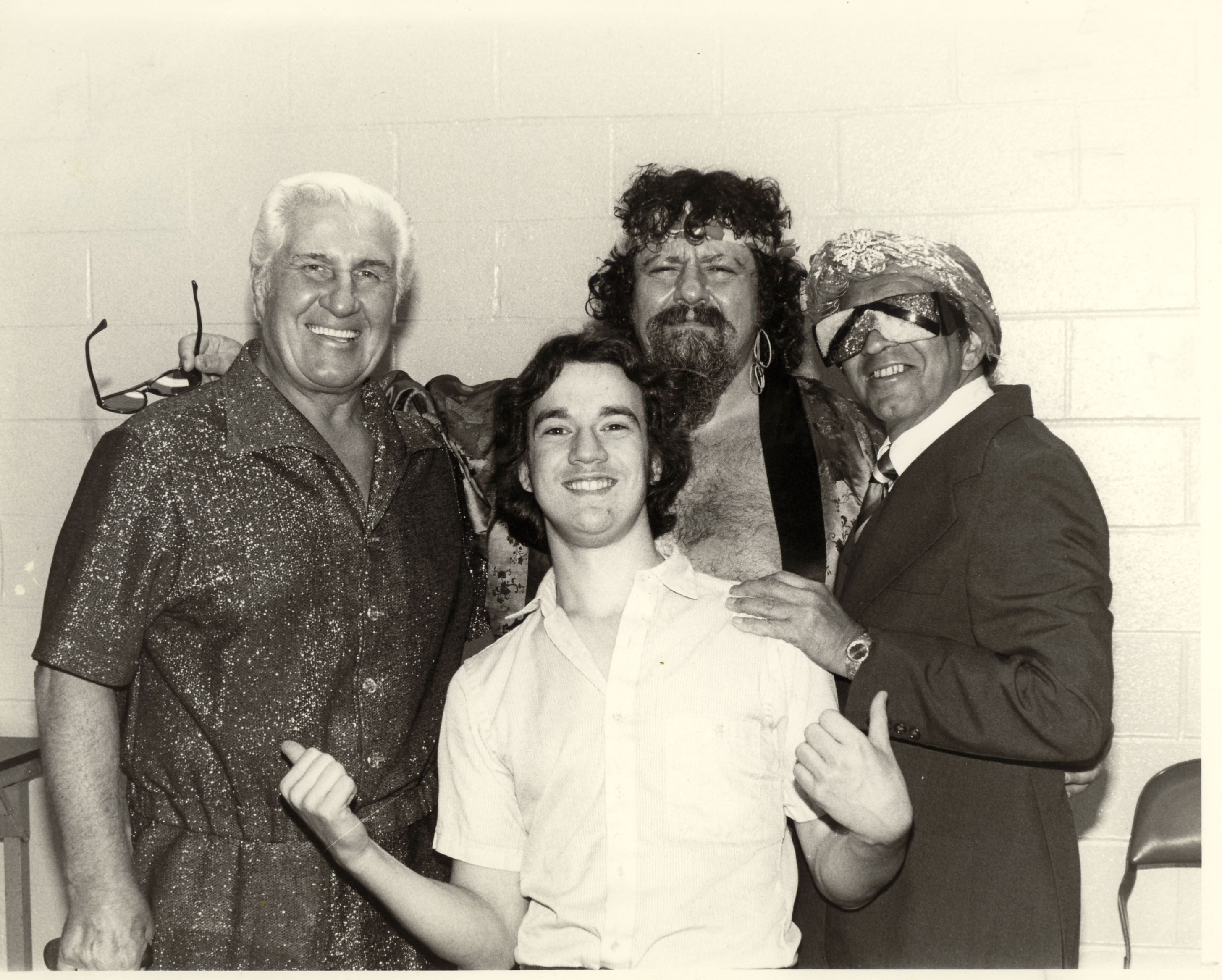 Classy Freddie Blassy, Paul Heyman, Captain Lou Albano And -8969