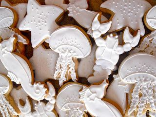 .Oh Sugar Events: Monochromatic Nautical Cookies