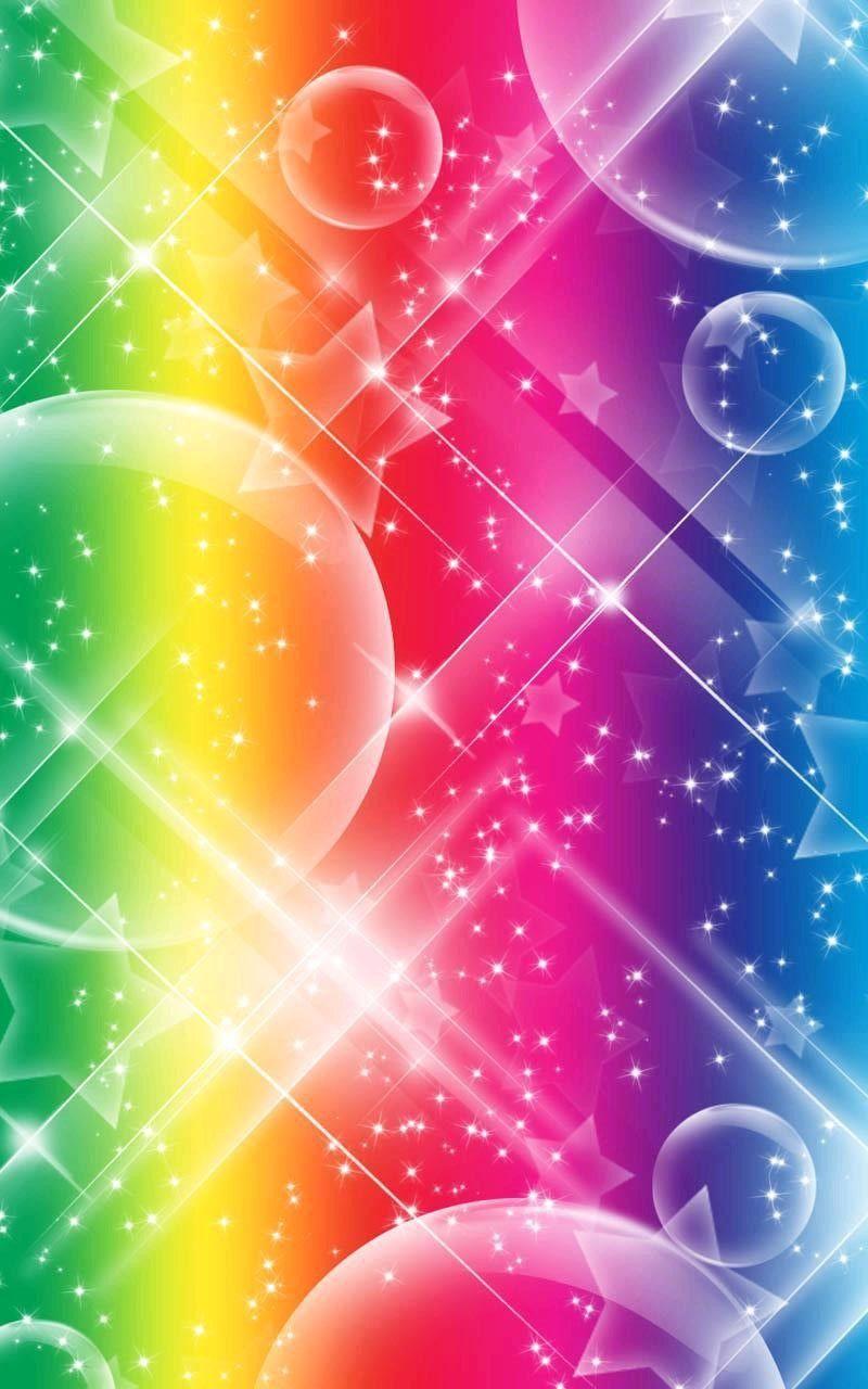 Обои неоновый, Abstract, rainbow, lights, colors, background. Абстракции foto 14