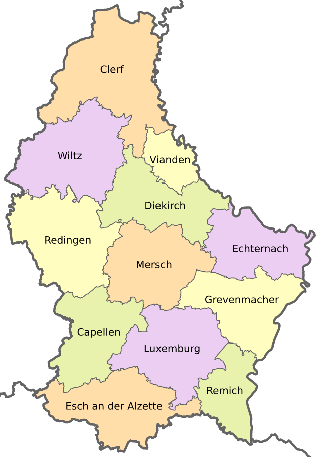 Landkarte Luxemburg Kantone Google Suche Luxemburg Belgien