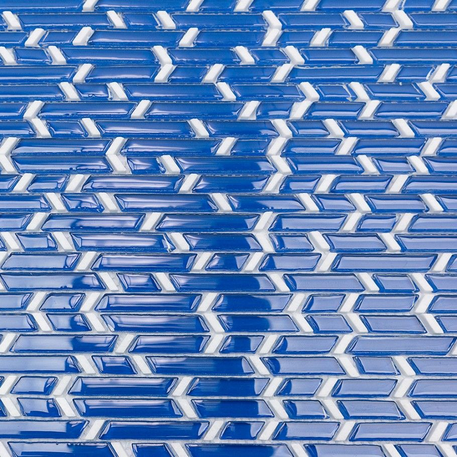 Kerrie Kelly Blue Glass & Marble Tile | Marble tiles, Marbles and ...