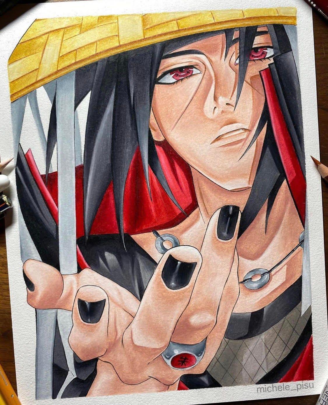 Photo of Itachi (20 x 30 cm) Original Artwork!