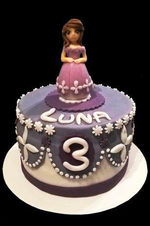 gateau sofia / sofia princess disney cake