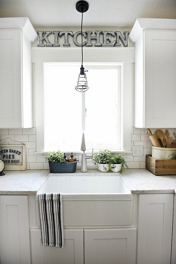 above kitchen sink decor farmhouse sink review pros amp cons home kitchen 3965
