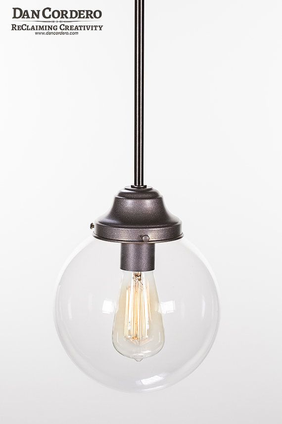 Edison Bulb Pendant Light Fixture by DanCordero on Etsy