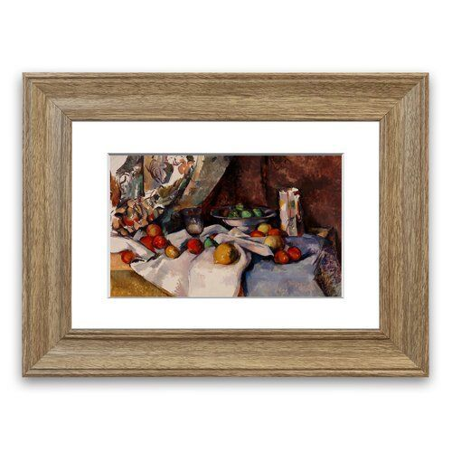 Affiche encadrée de maison urbaine de l'Est Nature morte aux pommes par Paul Cézanne | Wayfair.de -  Cezanne Still Life with Apples Cornwall 'photographie encadrée East Urban Taille de la maison - #35mmfilmphotography #Abstractphotography #Aerialphotography #affiche #Africanelephant #Albertacanada #Amazingnature #Andrekertesz #Animalphotography #Anseladams #Artphotography #aux #Barnweddingphotos #Beachphotography #Beachweddingphotography #Beachweddingphotos #Bearcubs #Beautyphotography