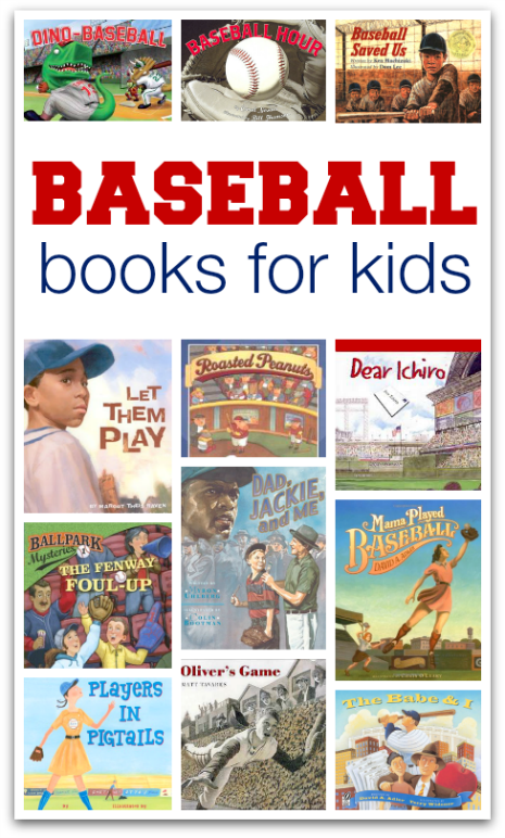 Photo of 15 Books About Baseball – No Time For Flash Cards