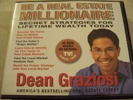 9 CD Set  Unabridged audio book of Be a real estate