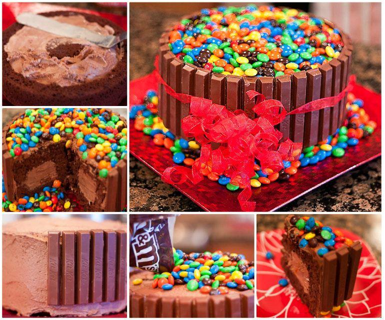 Choc Banana PB Bites Cream cake Cake and Creative cakes