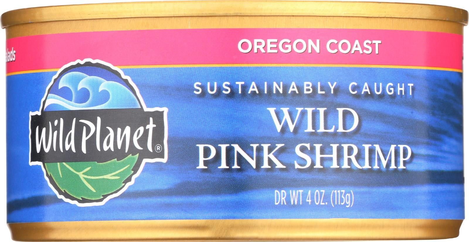 Wild Wild Pink Shrimp No Salt Added Case Of 12