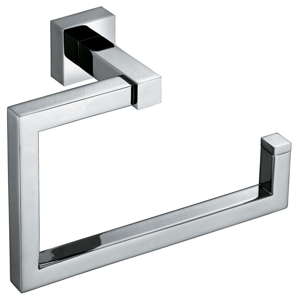 BUY 20% OFF Vado Square modern chrome fixed towel ring SQU-181-C/P ...