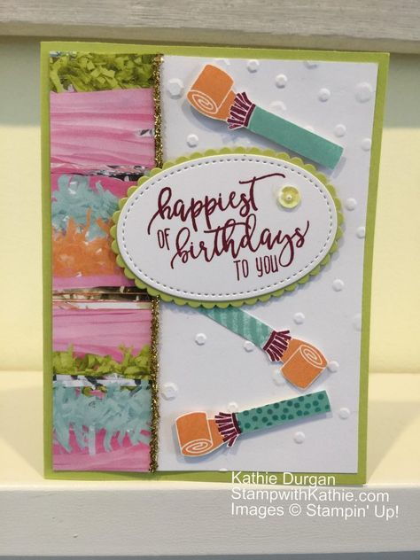 Stampin Up Birthday Birthdays Cards And Card Ideas