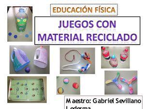 Juegos Con Material Reciclado Educacion Fisica Buscar Con Google Juegos Con Material Reciclado Educacion Fisica Juegos Educacion Fisica
