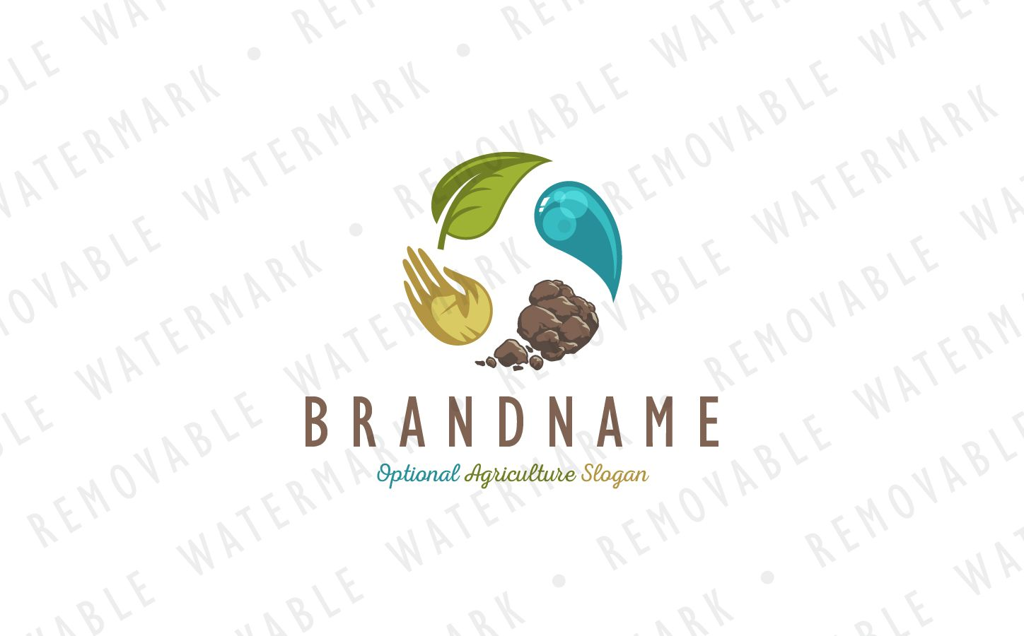 Agriculture Transformation Logo Template Website Templates