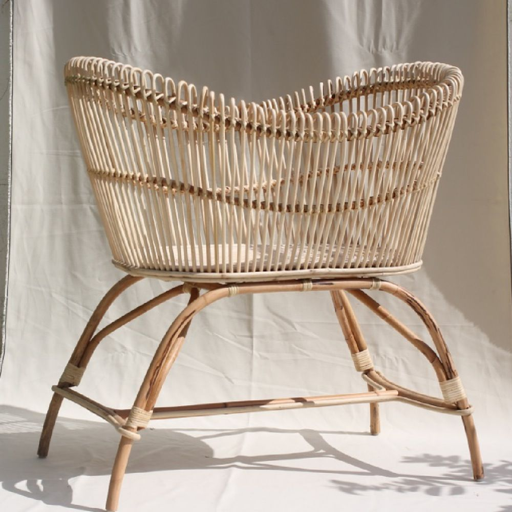 Ordinaire Baby Bassinet Moses Basket Woven Rattan Baby Bed Handmade Furniture, Baby  Furniture, Children Furniture