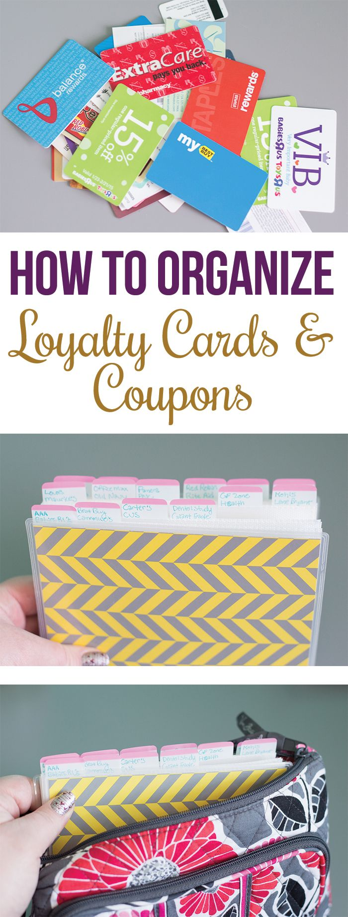 Organize Your Coupons {Step 8}