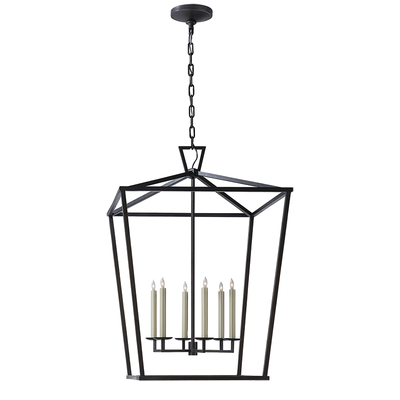 Several sizes available darlana extra large lantern lighting tm visual comfort e chapman darlana extra large lantern in gilded iron mozeypictures Image collections