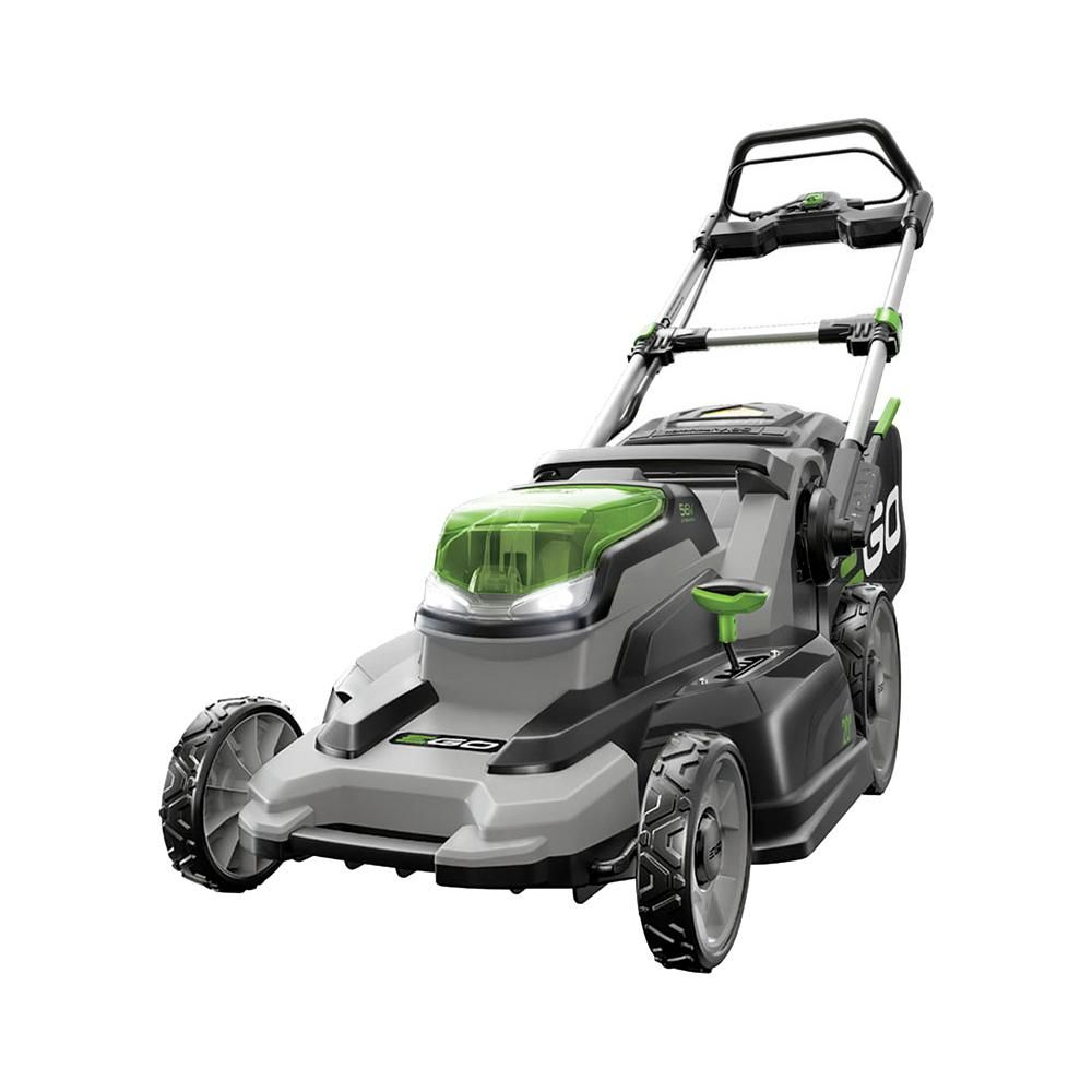 Ego 20 In 56 Volt Lithium Ion Cordless Battery Walk Behind Push Mower Battery Charger Not Included Products In 2019 Cordless Lawn Mower Lawn Mower Batt