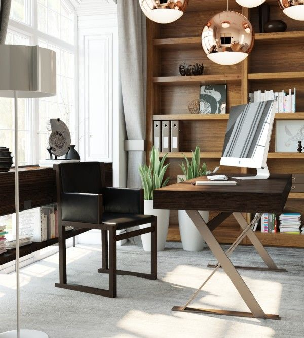 Home Office Design Tips To Stay Healthy: 3 Examples Of Modern Simplicity