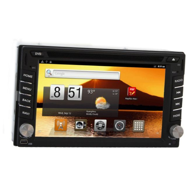 Slim And Light Android Car Stereo For All Samsung Phone Android Car Stereo With Wifi And Radio