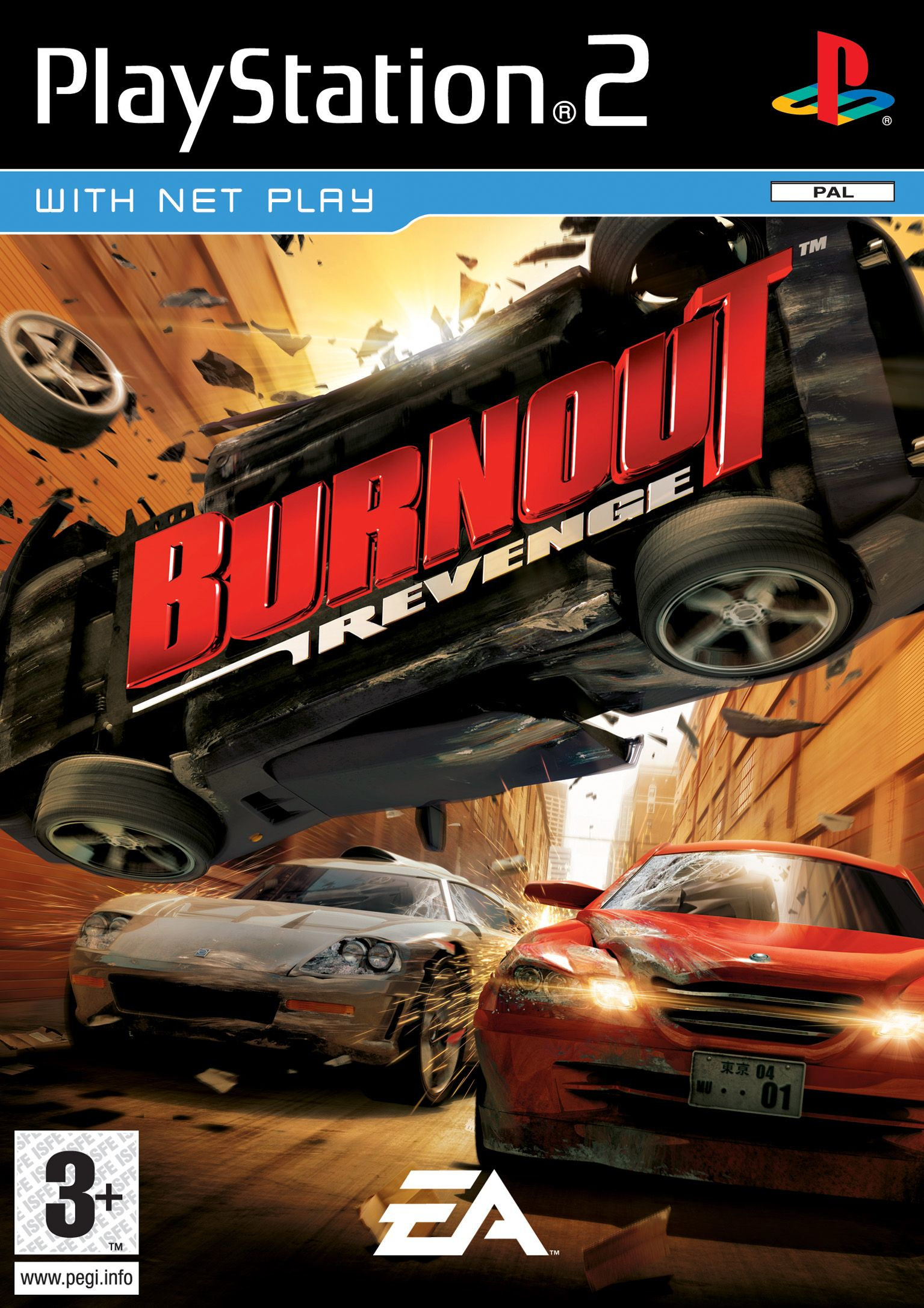 Burnout Revenge 2005 Xbox 360 Jogos Jogos Ps2 Xbox 360