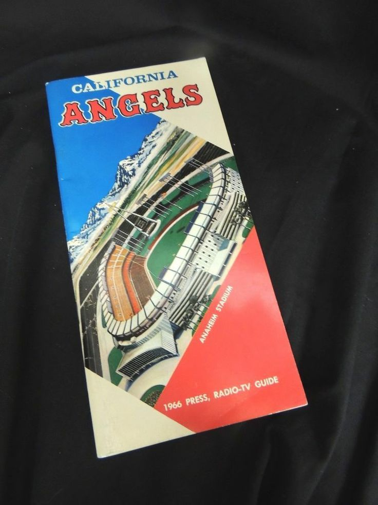 1978 california angels media guide | Vintage Media Book Press Guide Roster Radio California Angels 1966 MLB ...