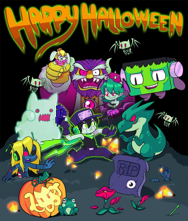 Happy Halloween from the Cave Story team #CaveStory #Halloween ...