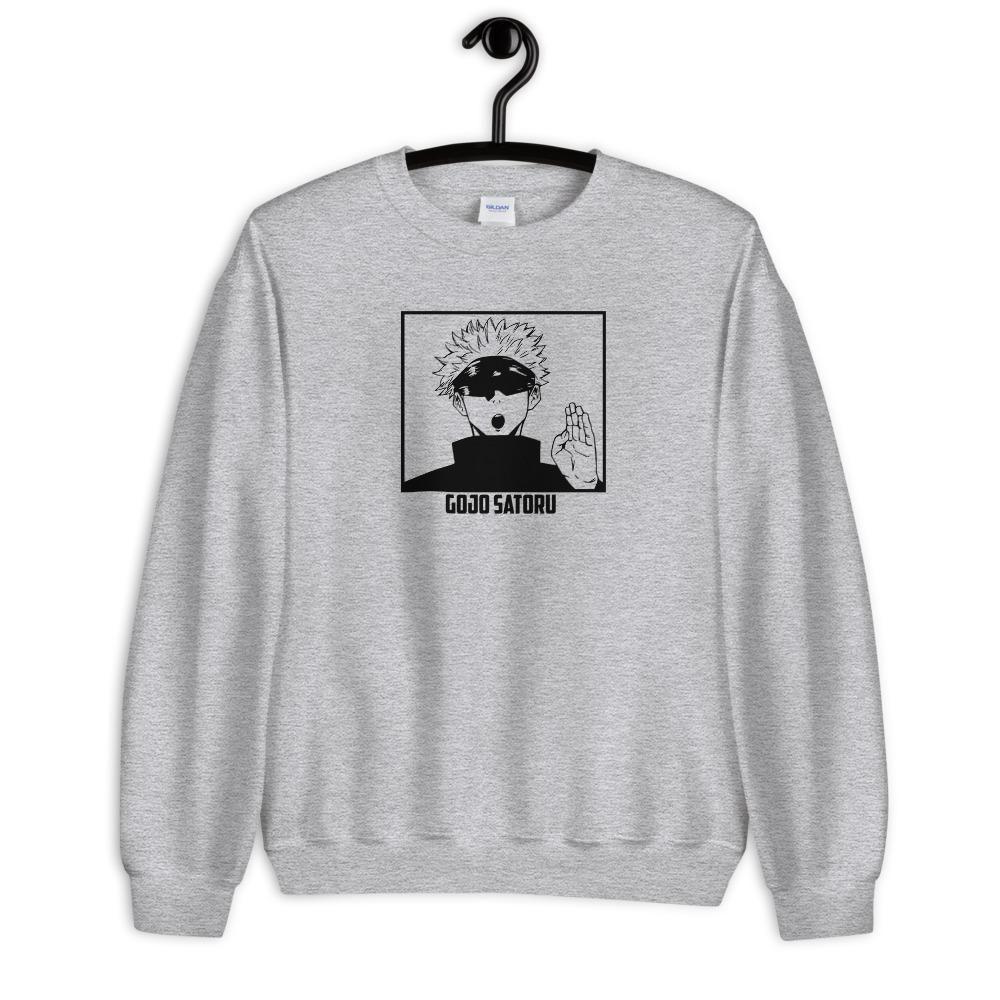 Gojo Satoru Sweatshirt Sweatshirts Warm Sweatshirts Fitted Sweater