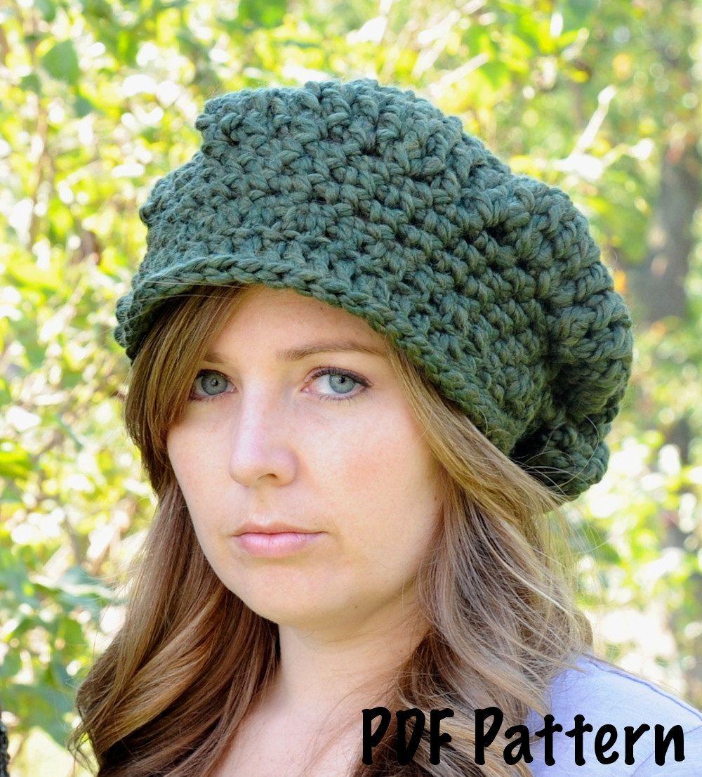 Slouchy newsboy hat pattern crochet pattern crochet hat pattern slouchy newsboy hat pattern crochet pattern crochet hat pattern womens hat pattern bankloansurffo Images