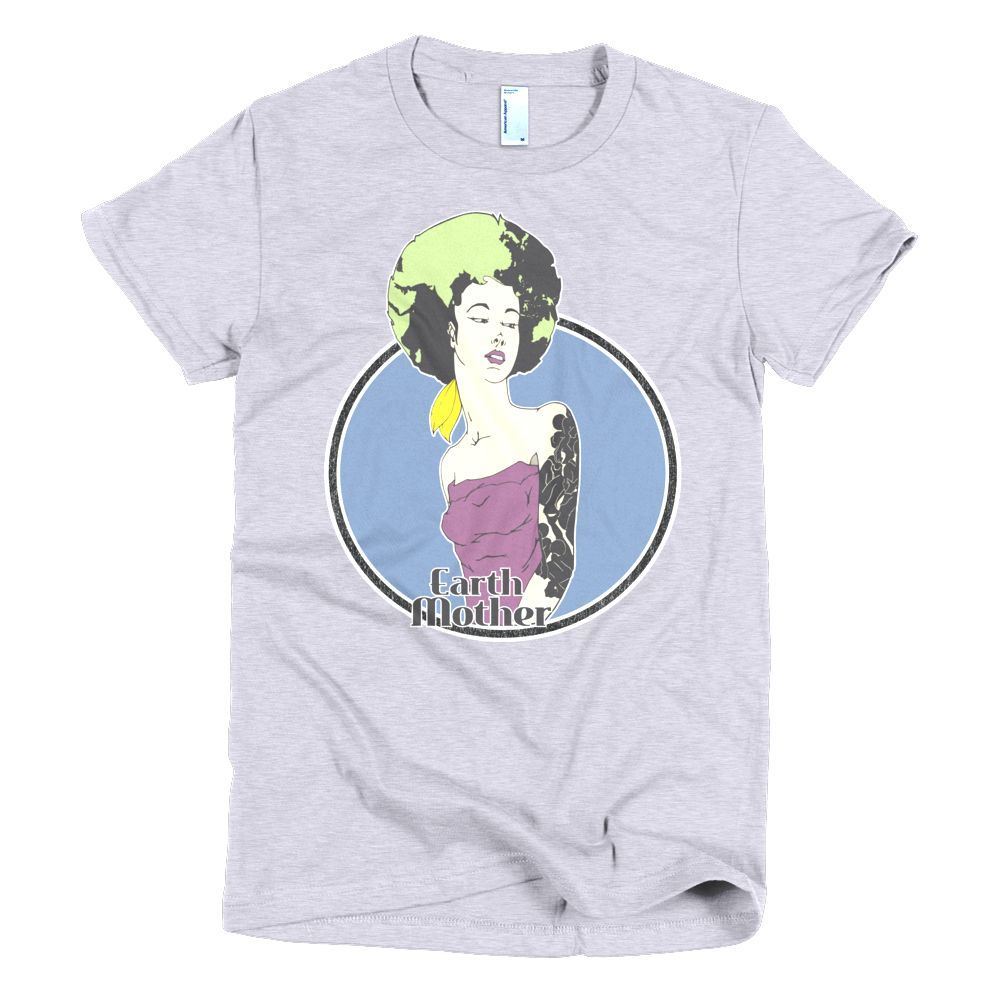 Connect With Earth Mother #4 Short sleeve Women's t-shirt