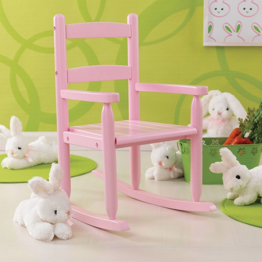 Classic rocking chair pink kidkraft 18104 in 2020