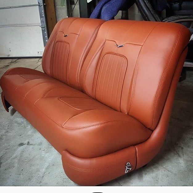Websta Thehogring Custom Bench Seat Upholstered By Swiftstitchupholstery Thehogring Handmade Aut Custom Car Interior Automotive Upholstery Car Interior