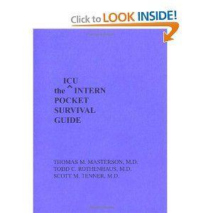 icu intern pocket survival guide intern pocket survival guide rh pinterest com