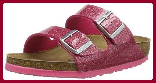 BIRKENSTOCK Classic Damen Arizona Birko-Flor Softfootbed Pantoletten, Pink (Magic Galaxy Bright Rose), 37 EU
