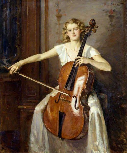 Galería De Arte Cristina Faleroni Arte De Cello Ilustración Musical Arte De La Música