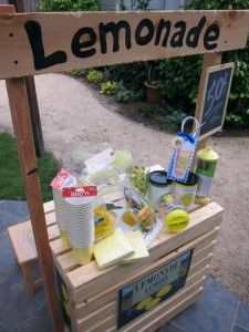 14 Kool Aid Stand Ideas Lemonade Stand Diy Lemonade Stand Diy Lemonade