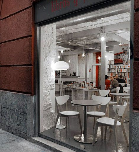 Library And Coffee Shop | Interior Design Ideas, Modern Furniture ...