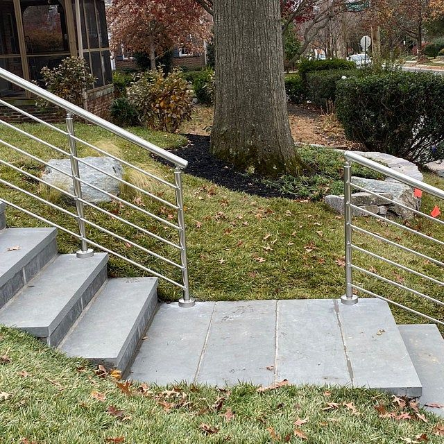 Glass Staircase Balustrade Kit: Modern Square Stairs Balcony Glass Hand Rail Staircase